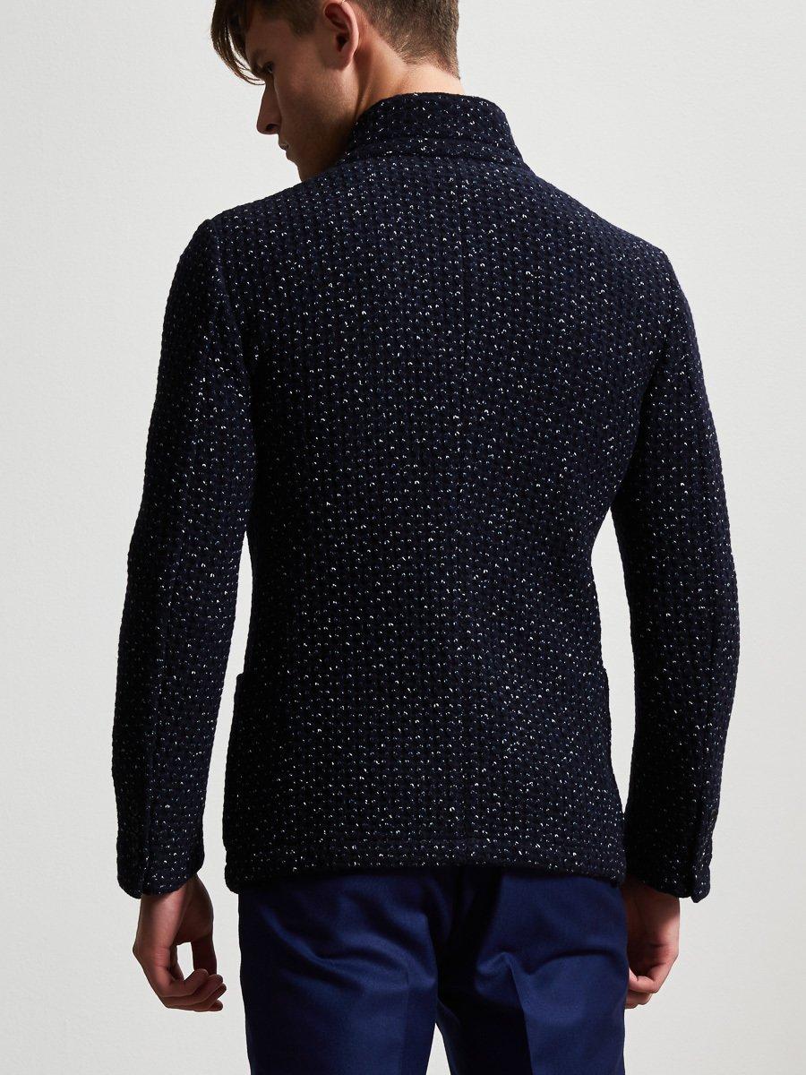 Wool Blend 3D Blazer