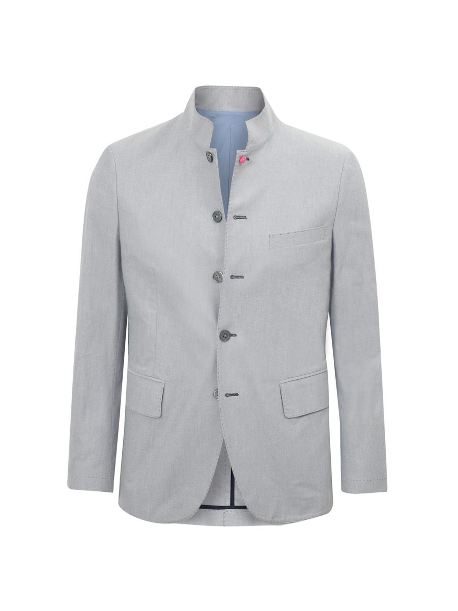 Cotton Oxford Suit Jacket