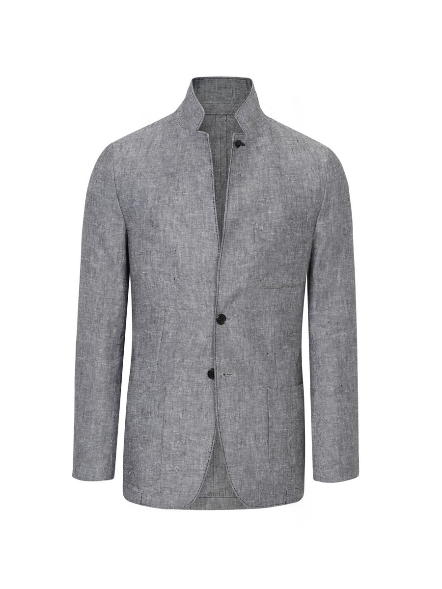 Linen Blazer (Slim Fit)