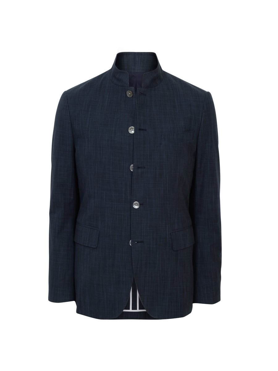Cotton Twill Delave Suit Jacket