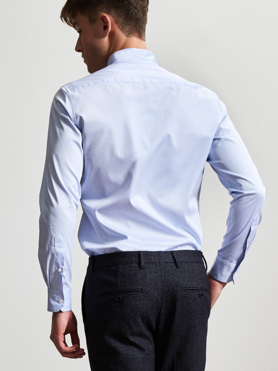 Cotton Authentic Mandarin Collar Shirt