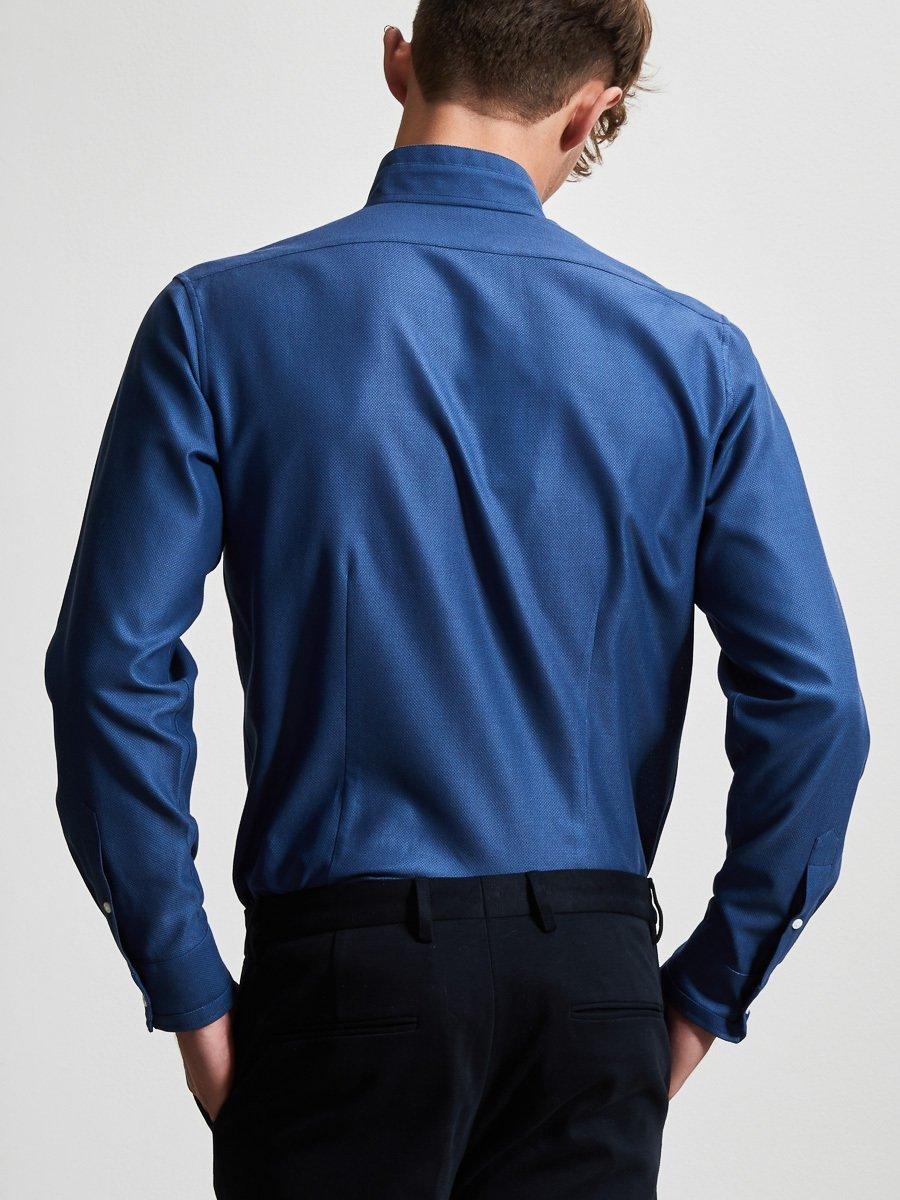 Cotton Pique Shirt with Self Tip