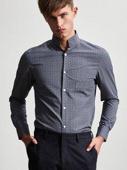 Cotton Pebble Print Shirt