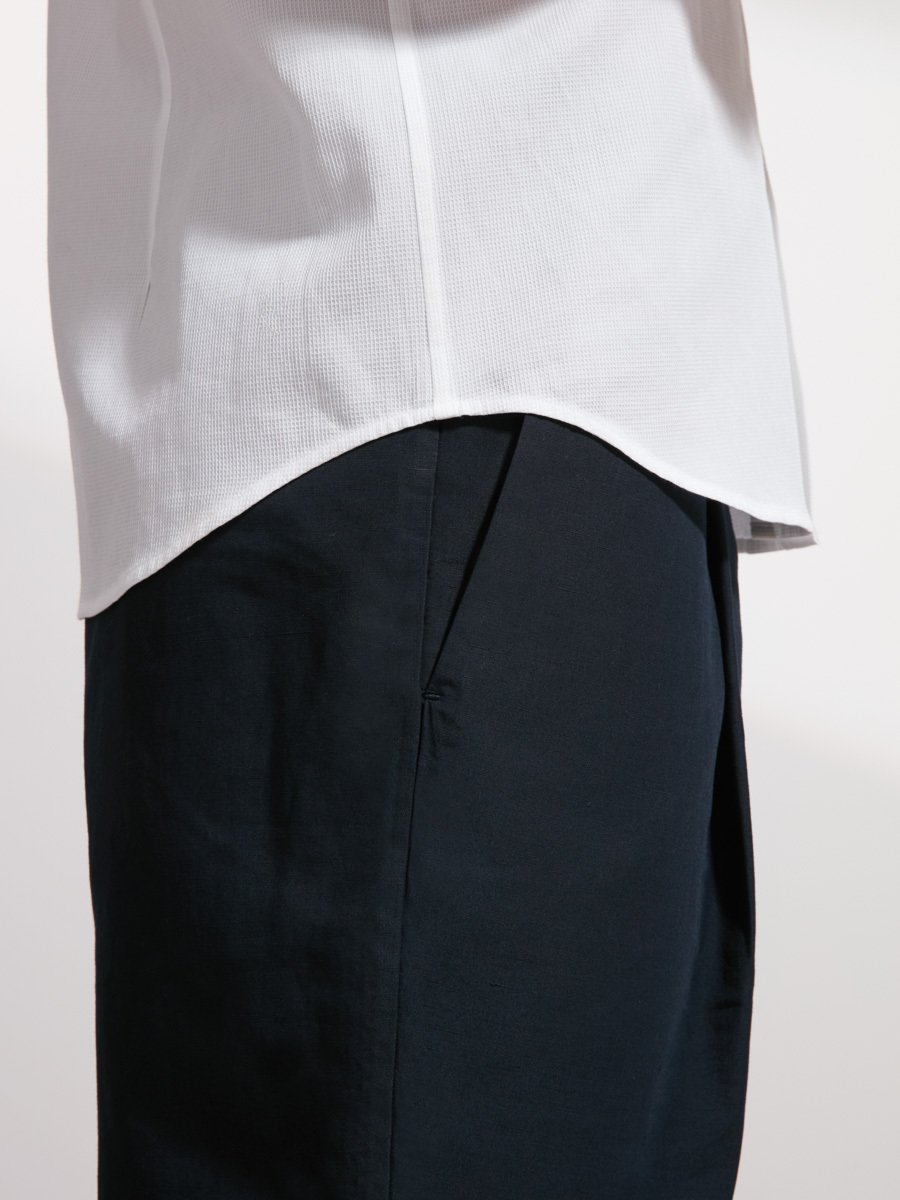 Cotton Tip Collar Shirt