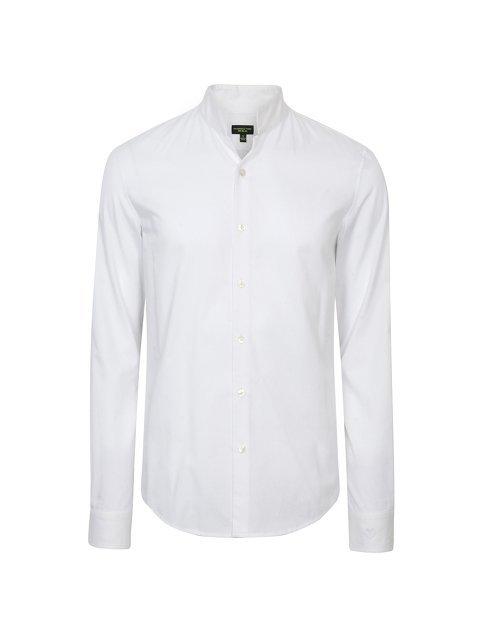Cotton Officer Collar Shirt (Slim Fit)