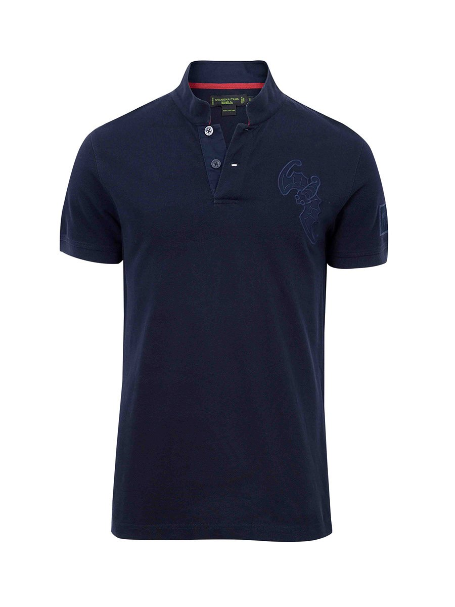 Cotton Bat Fortune Piqué Polo