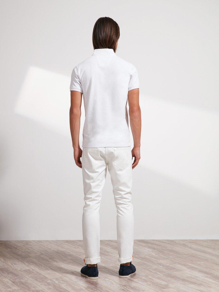 Cotton Rooster Piqué Polo Shirt