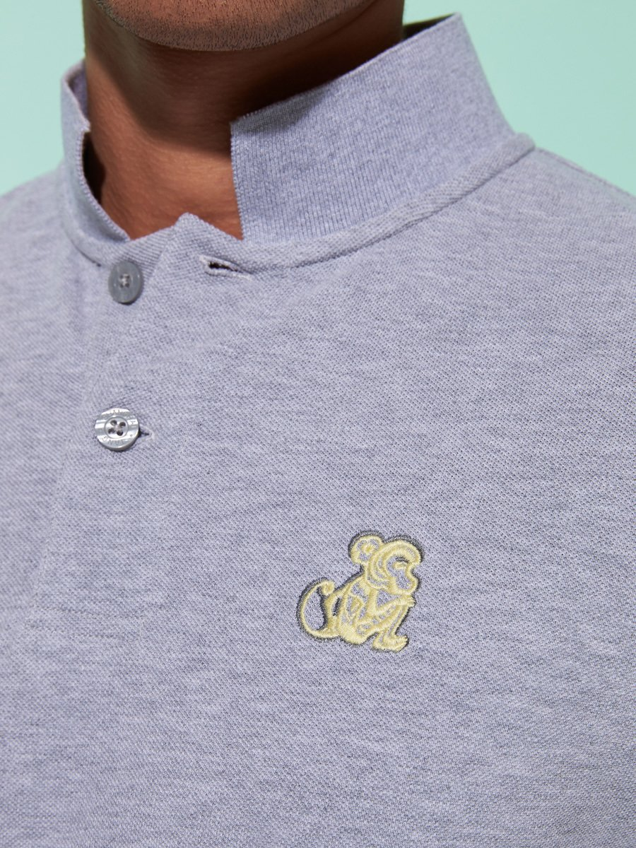 Year of The Monkey Pique Polo (Slim Fit)