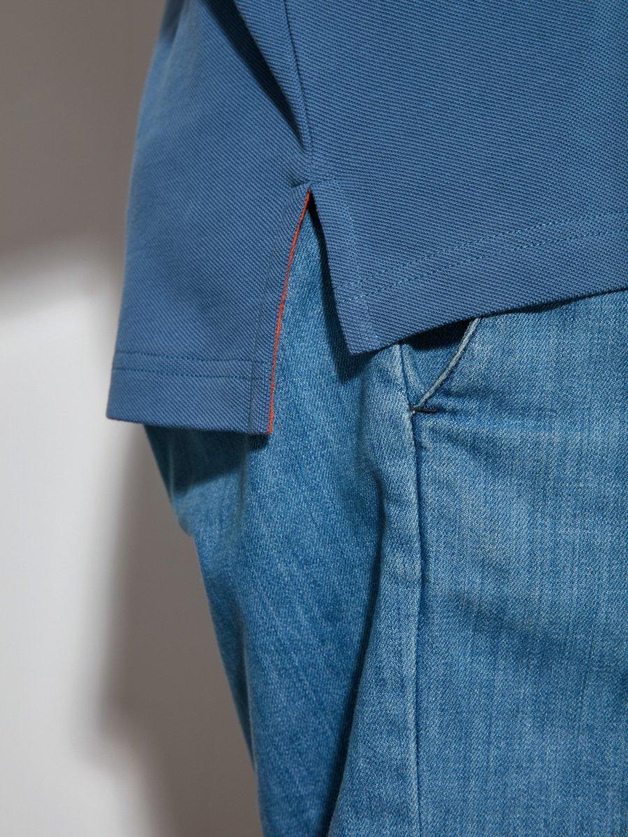 5 Claws Dragon Cotton Pique Polo Shirt