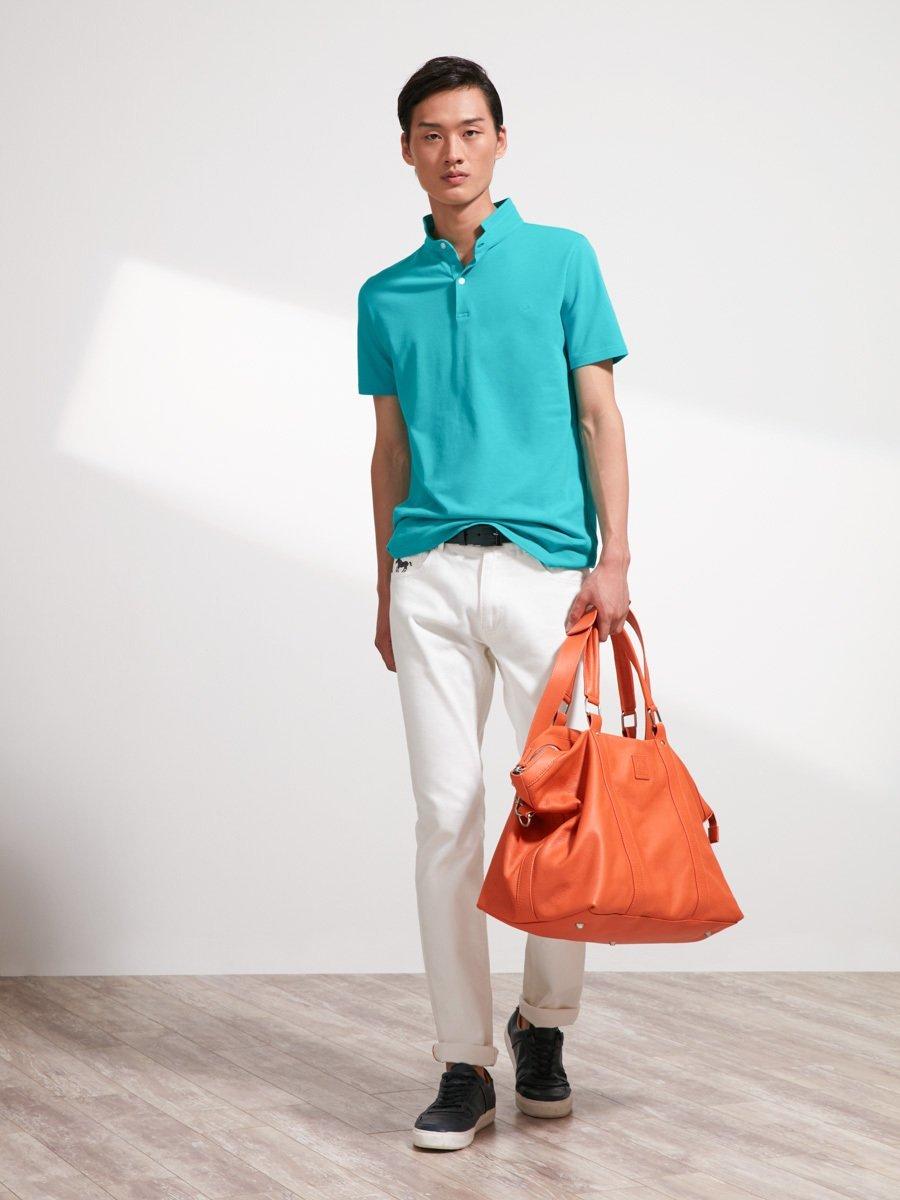 Cotton Fine Piqué Polo Shirt