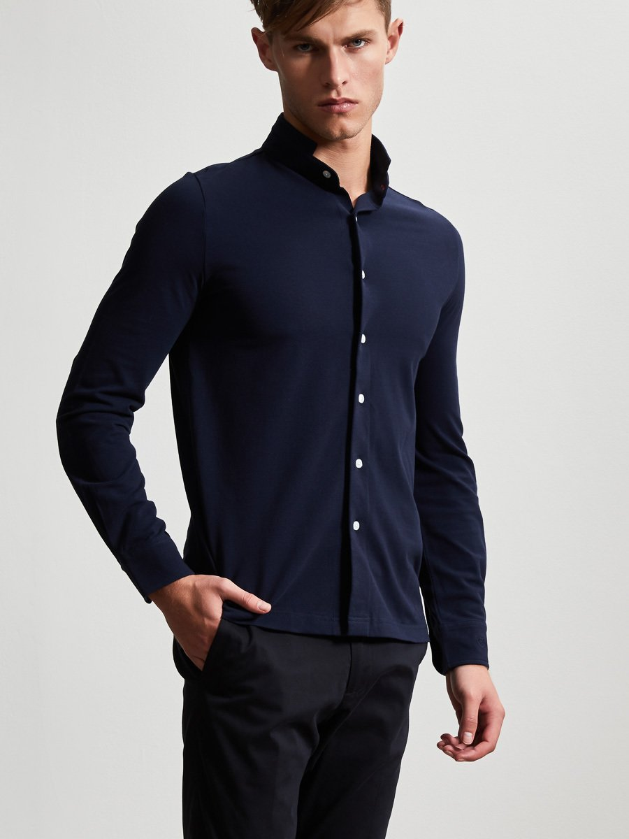 Cotton Fine Pique Polo Shirt