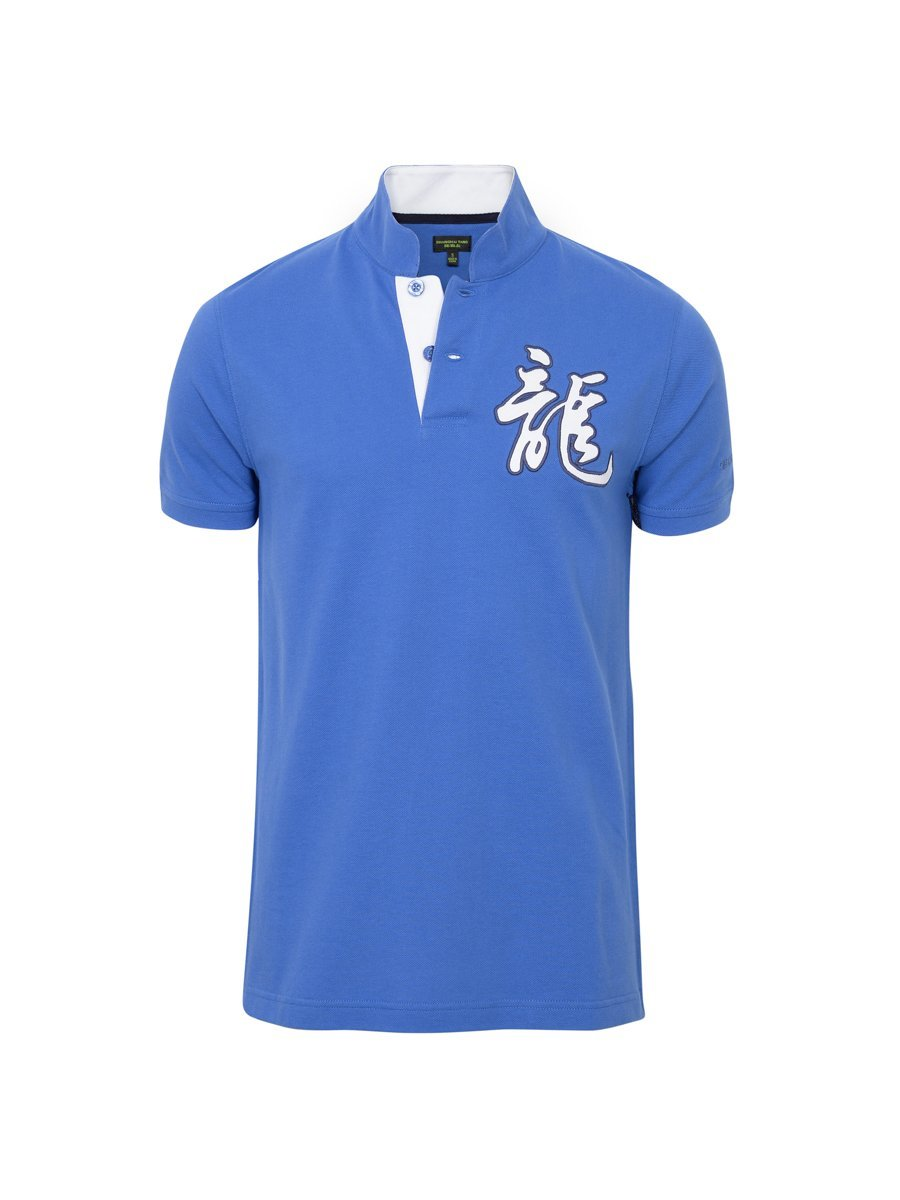 Cotton Dragon Piqué Polo Shirt