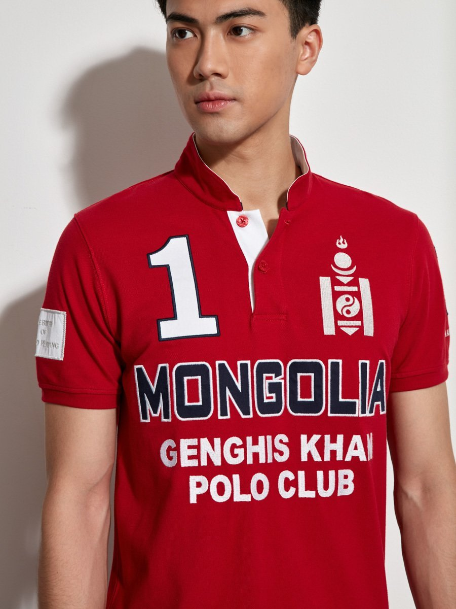 Mongolia Player Cotton Piqué Polo