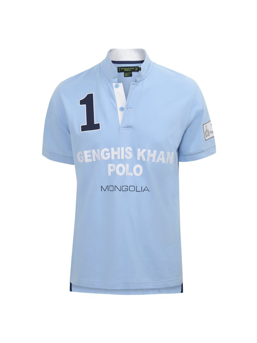 Genghis Khan Cotton Piqué Polo Shirt