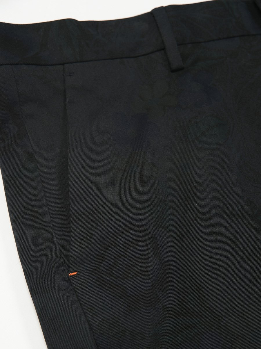 Cotton Stretch Flower Printed Pants