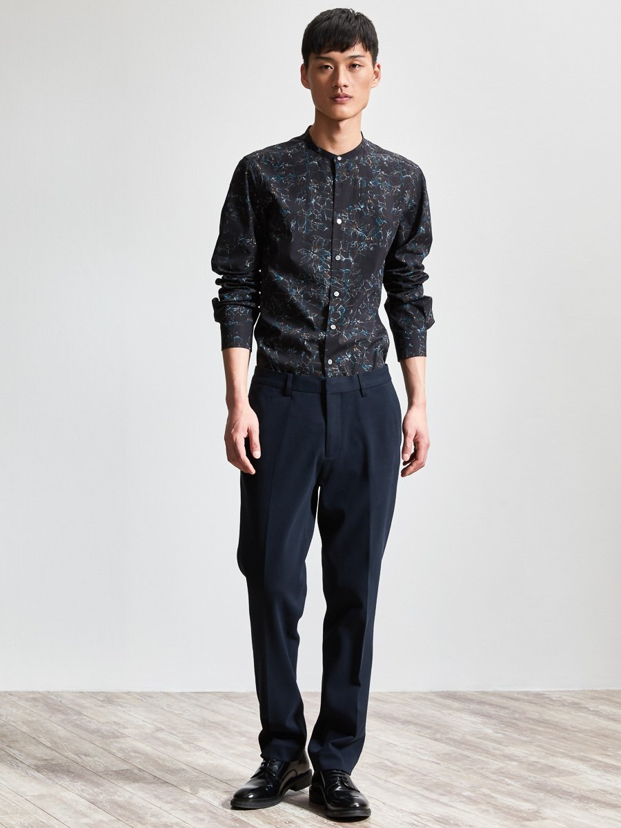 Cotton Knit Suit Pants