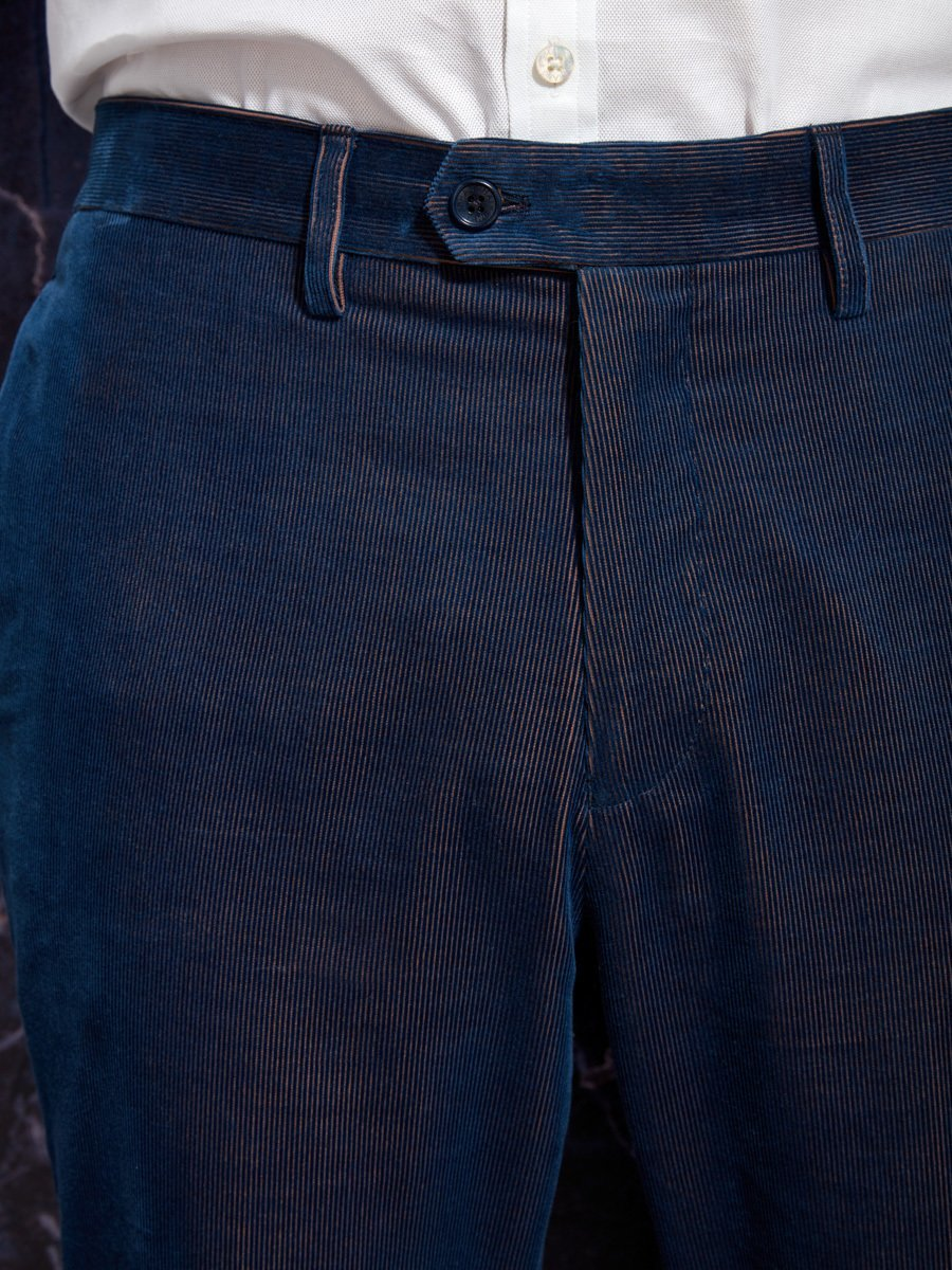 Two-Tones Corduroy Pants