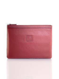 New Pebble Media Leather Pouch Large