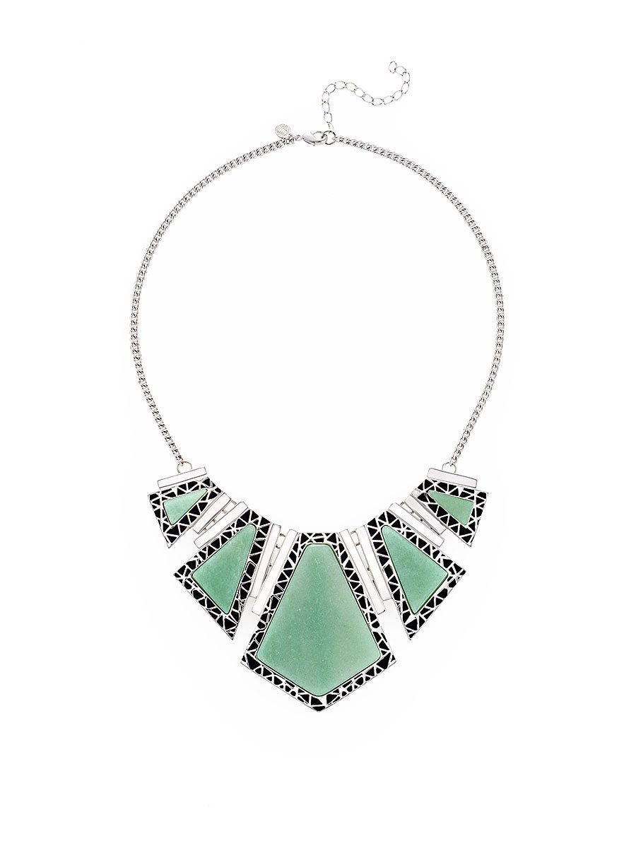 Ice Ray Statement Necklace