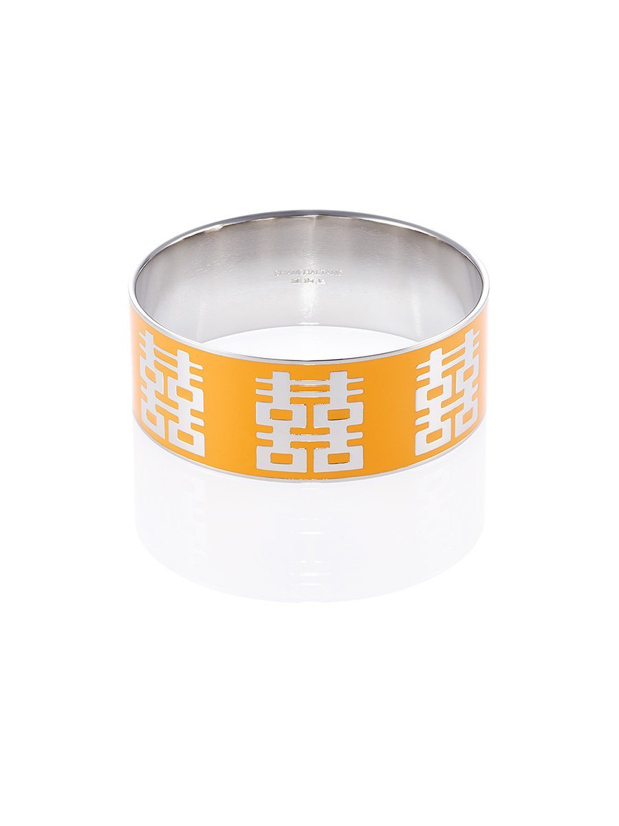 Double Happiness Enamel Bangle