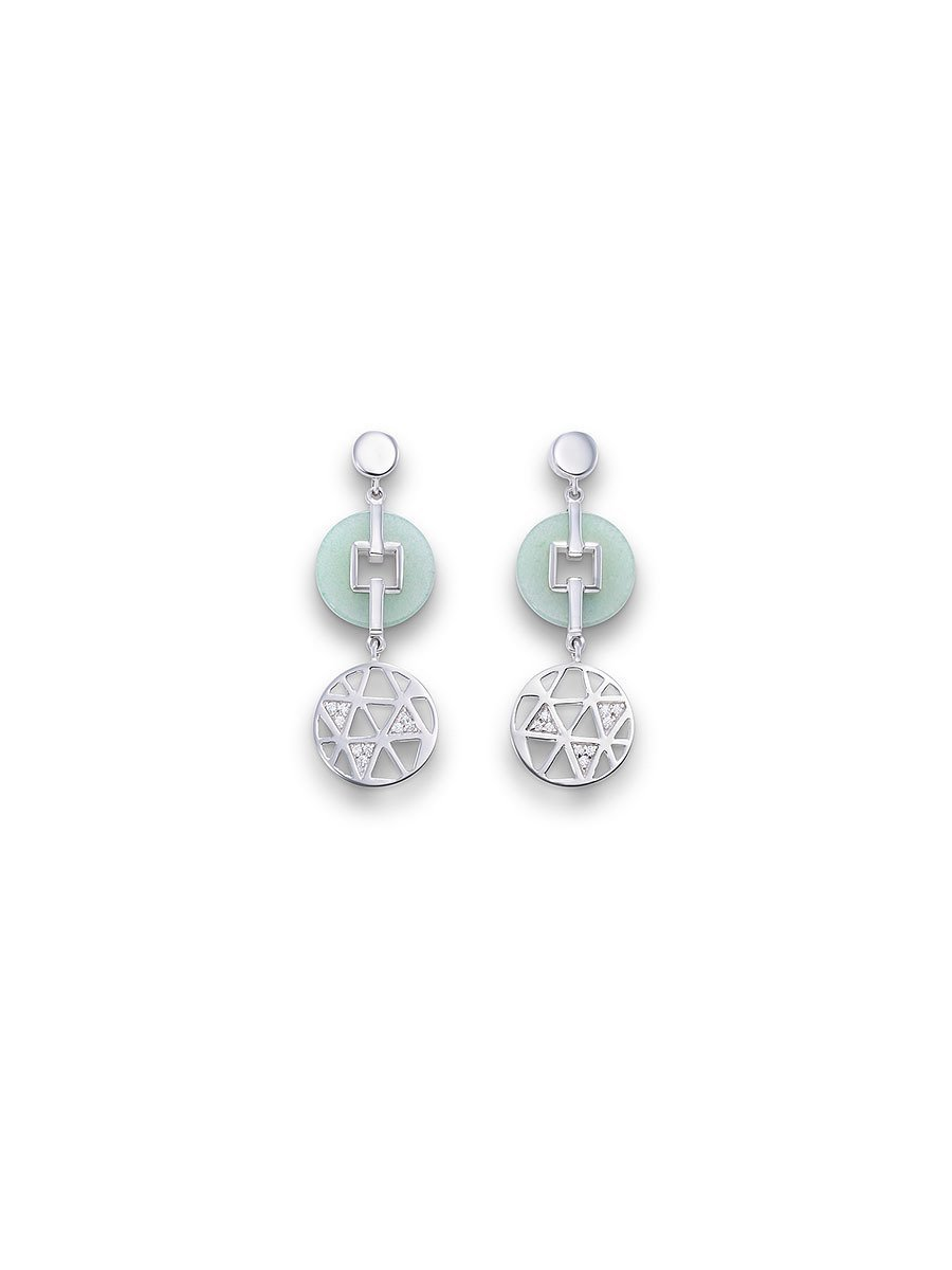 Ice Ray Earrings