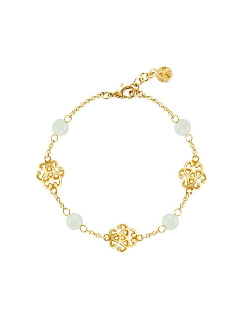 Chinese knot bracelet\u2014Tongxin knot