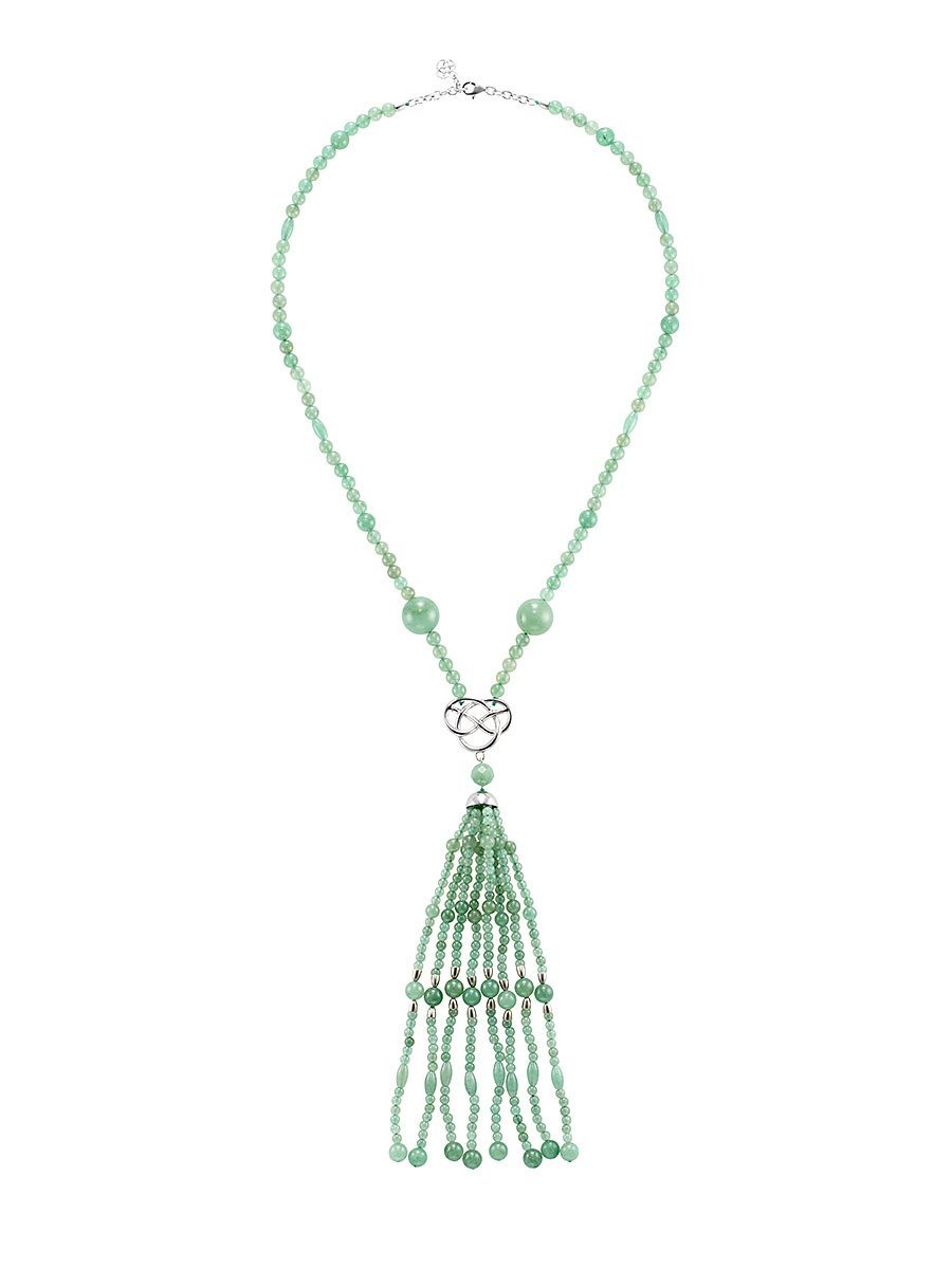 Pom Pom Tassel Necklace