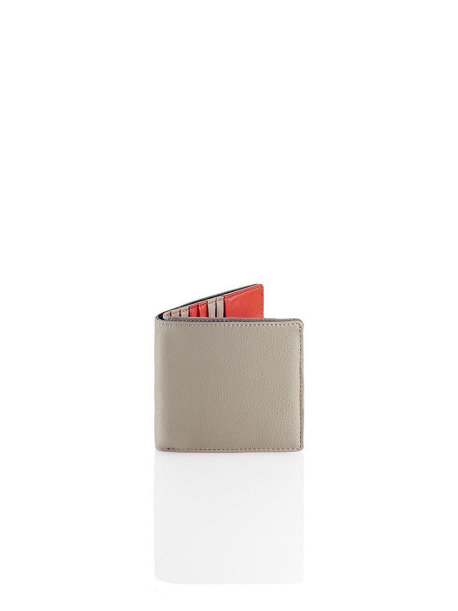 Colourblock Leather Wallet