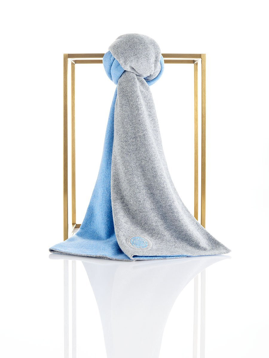 Double Happiness cashmere and silk scarf