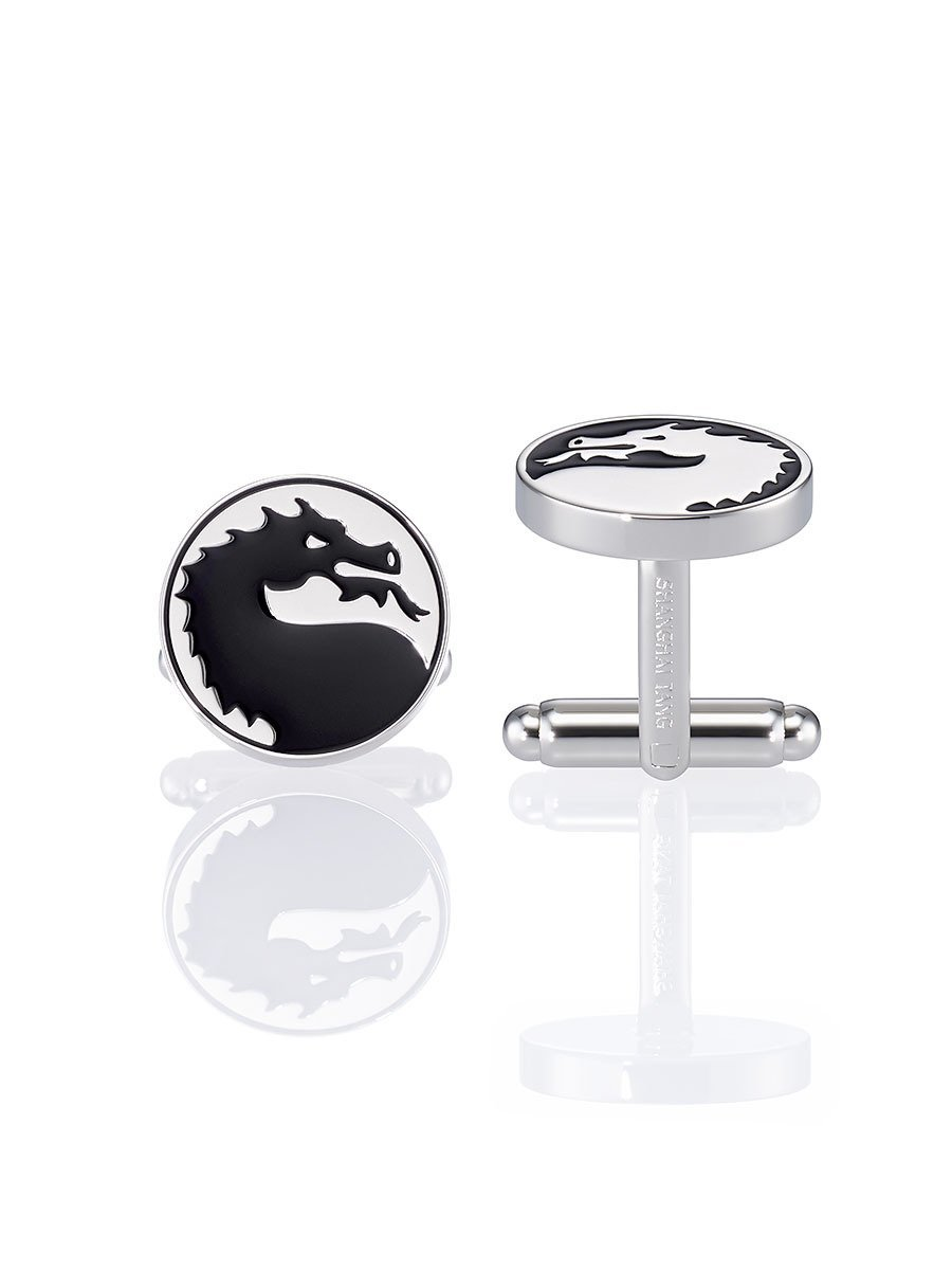 Dragon Enamel Cufflinks