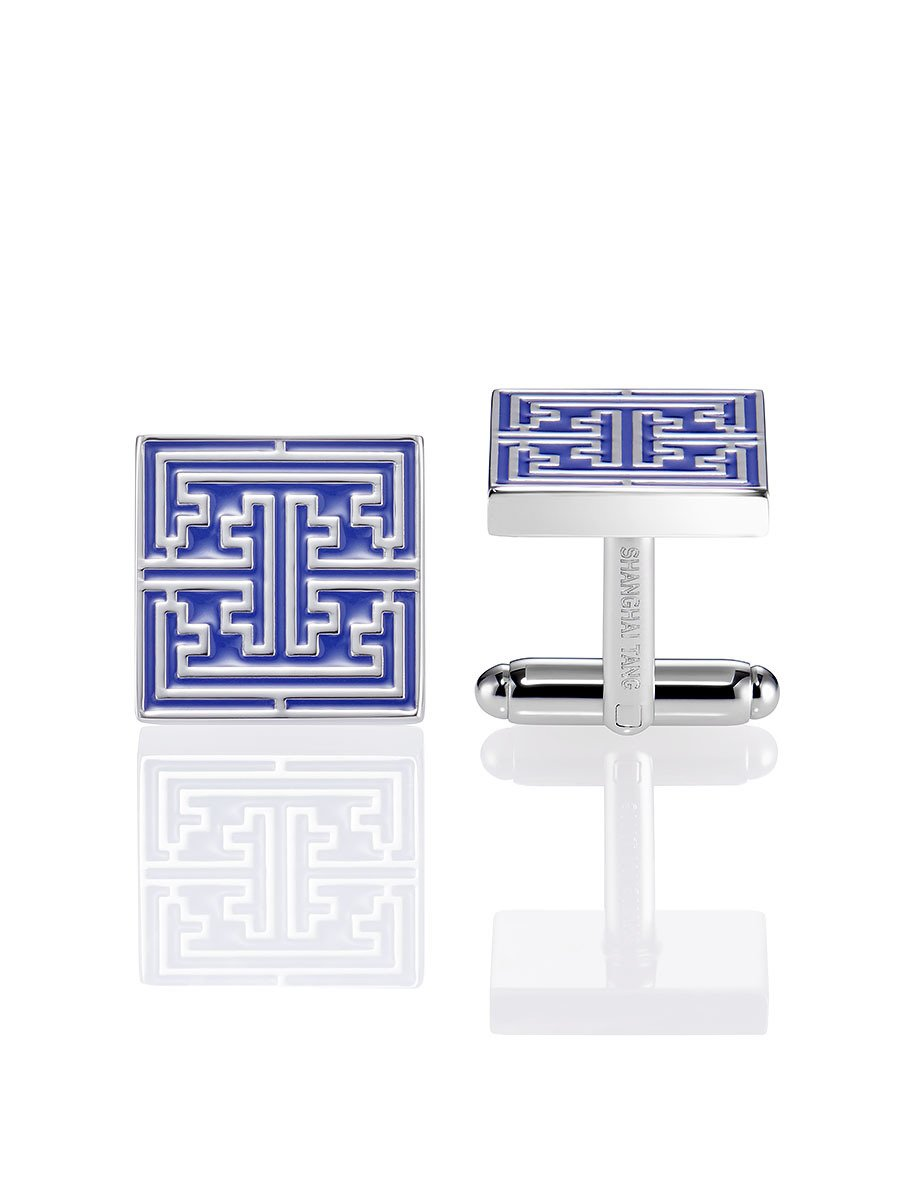 Square Lattice Cufflinks