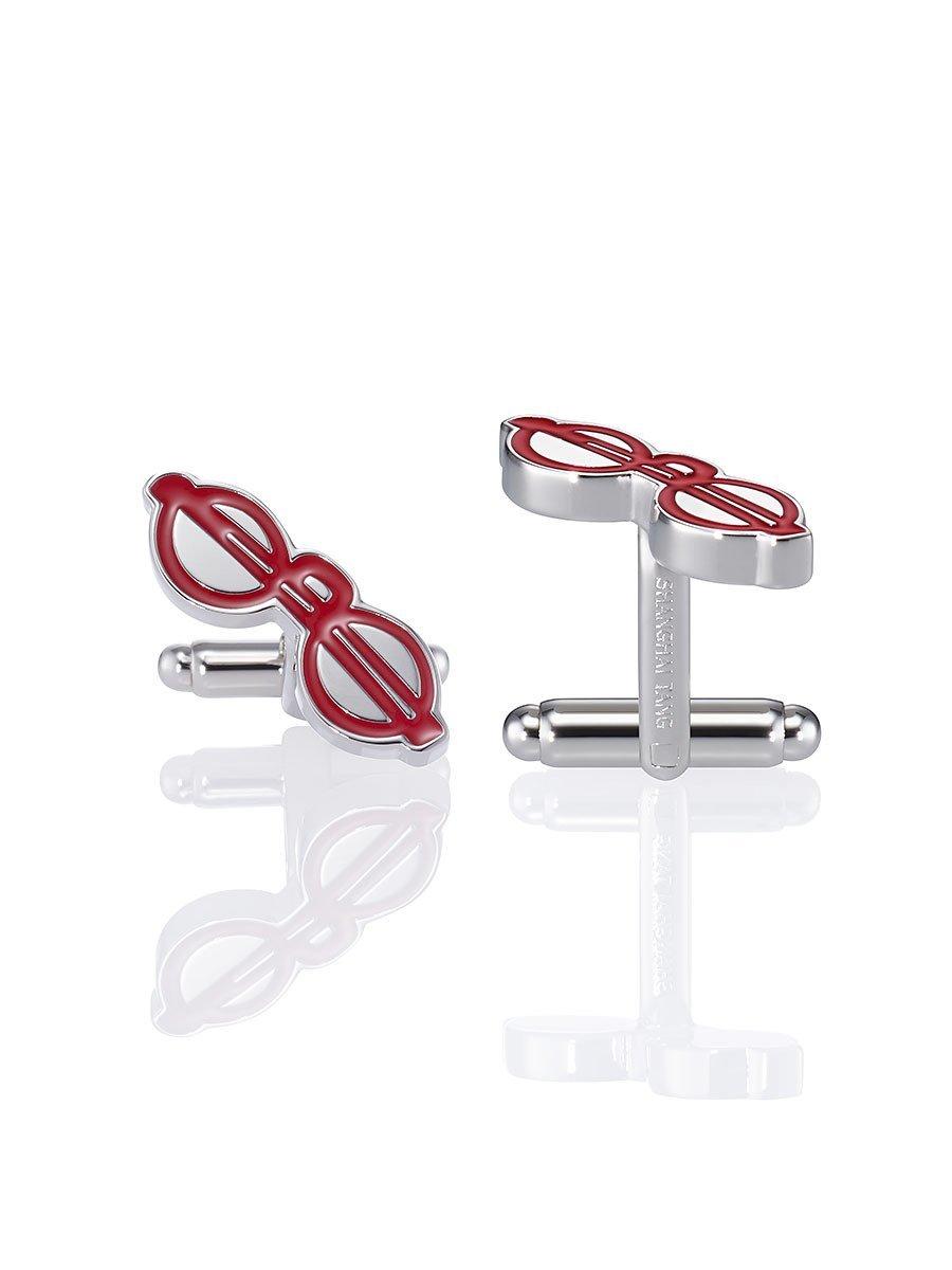 Puyi Glasses Cufflinks