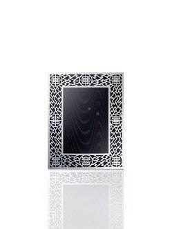 4R Silver Lattice Photo Frame