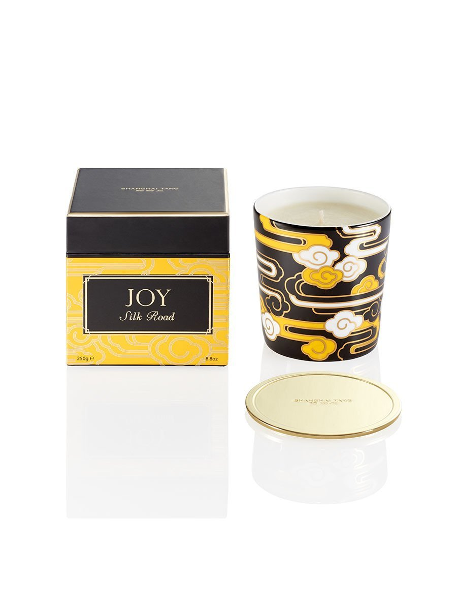 Silk Road Joy Candle with lid