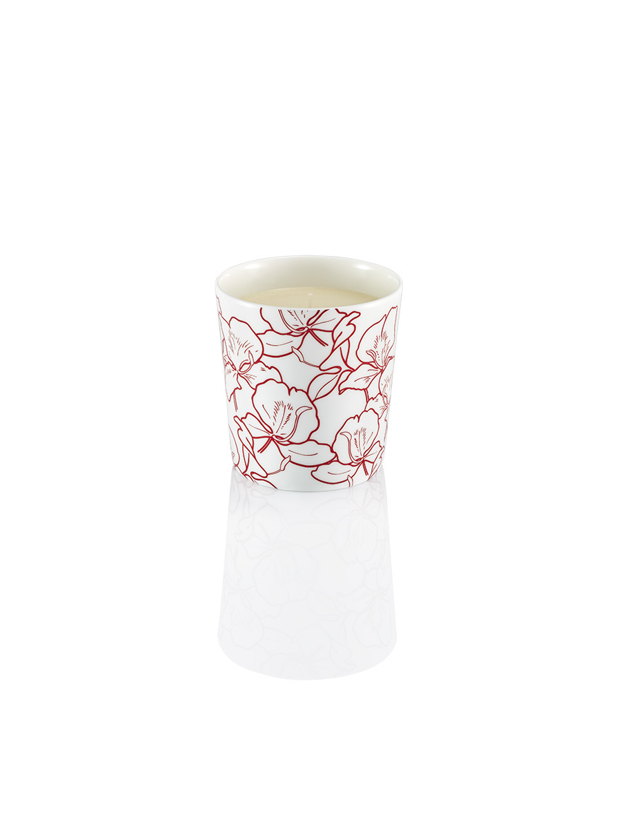 Ginger Flower Bone China Scented Candle