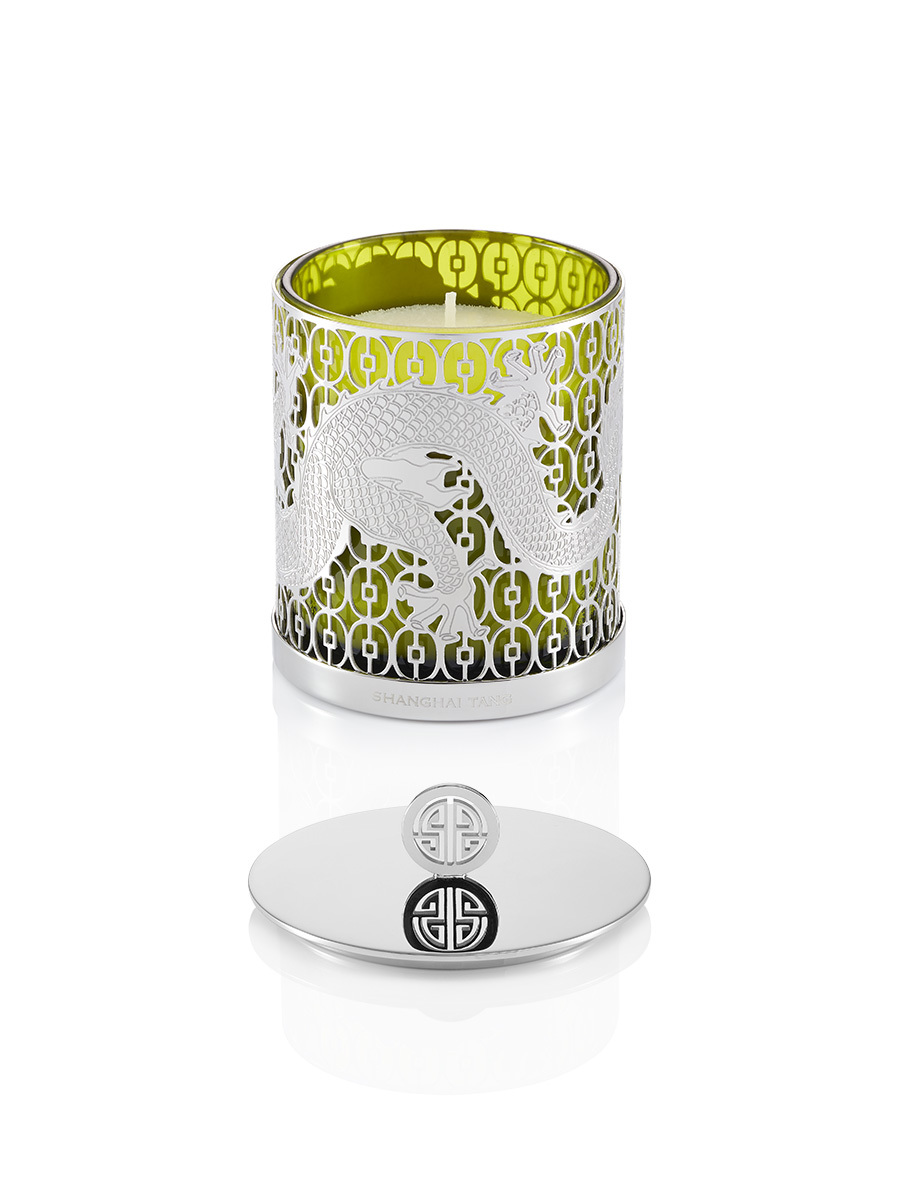 Dragon Jade Garden Scented Deco Candle W. Lid