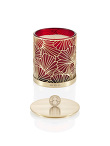 Ginkgo Ginger Flower Scented Deco Candle W Lid