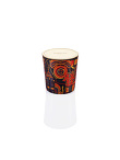 Neon Hong Kong Bone China Scented Candle with Lid