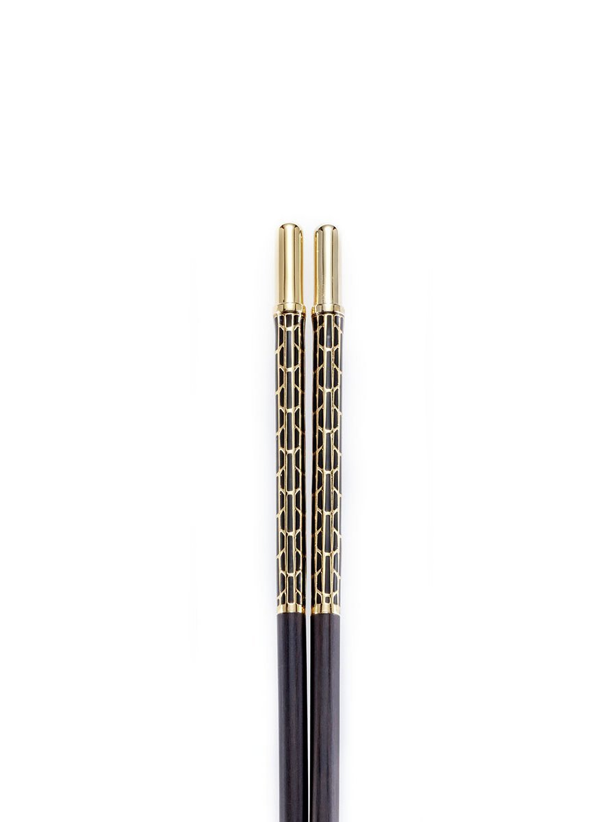 Limited Edition Lattice Enamel Chopstick (Set of 2 Pairs)