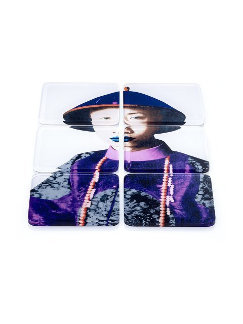 Puyi Acrylic Coasters (Set of 6)