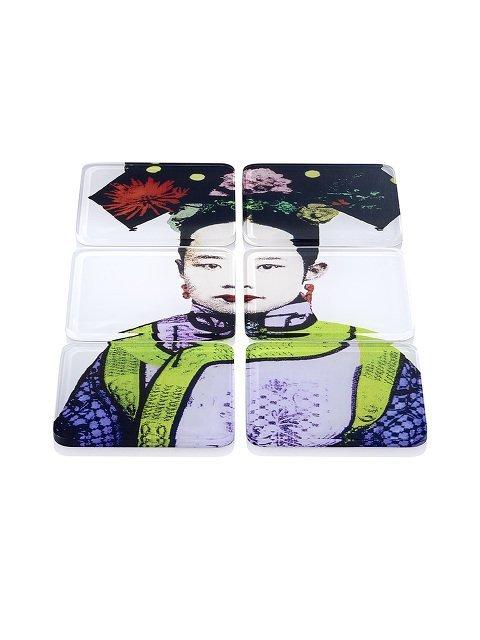 Empress Acrylic Coasters (Set of 6)