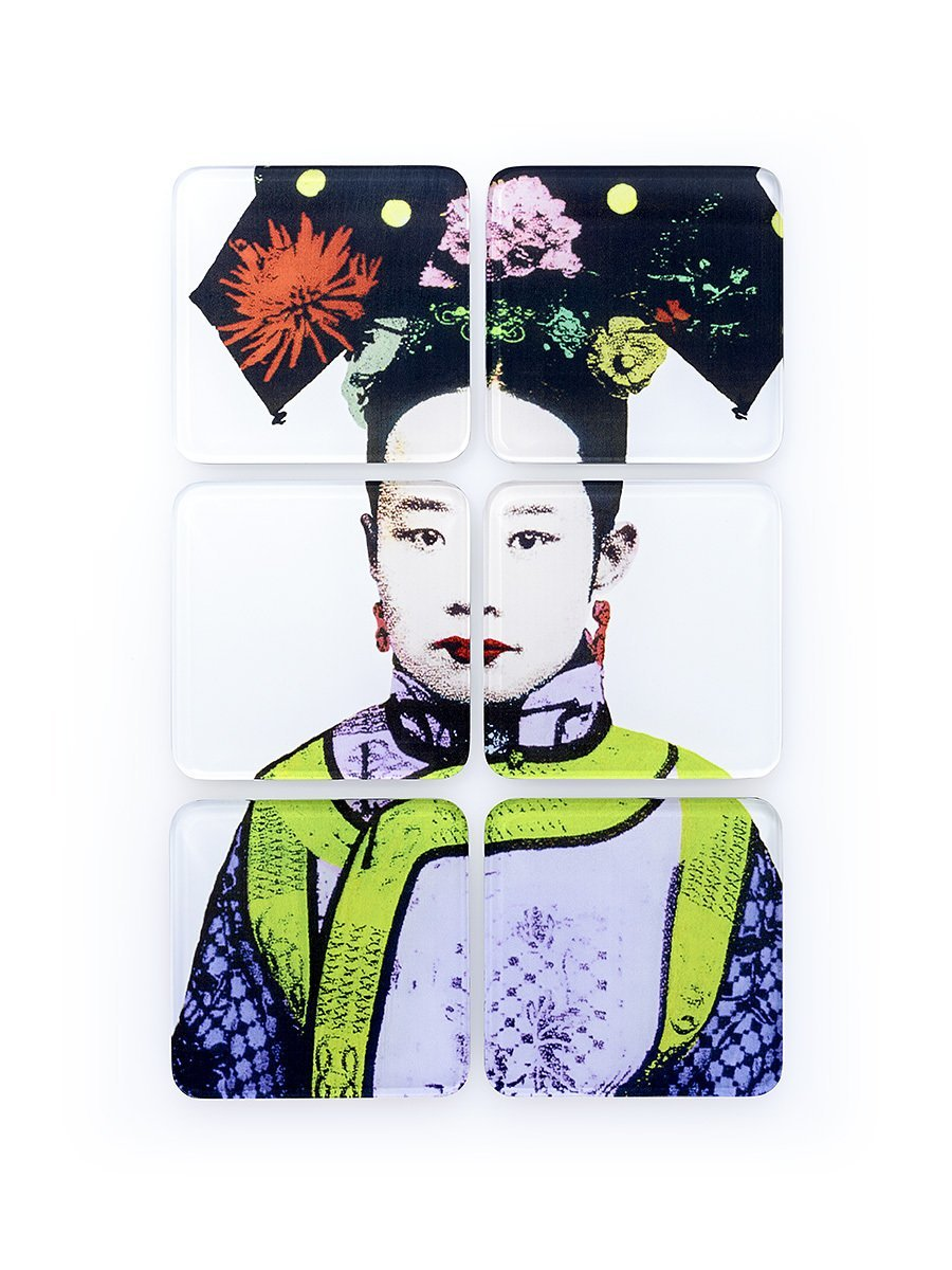 Empress Acrylic Coasters (Set of 6)