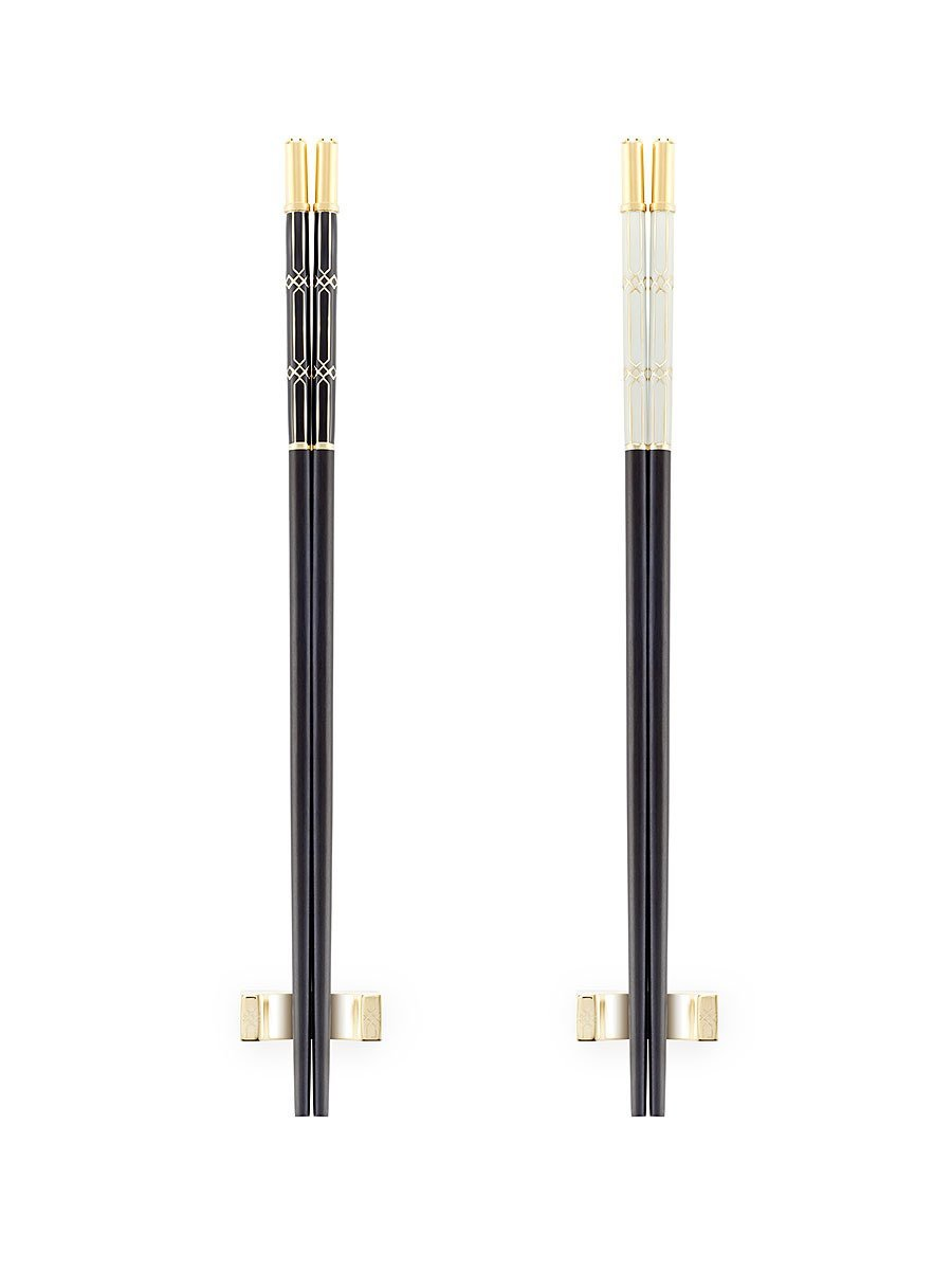 Lantern Deco Enamel Chopsticks (Set of 2 pairs)