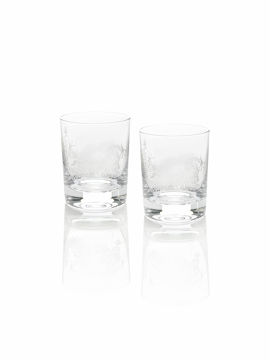 Dragon Whisky Glasses (Set of 2)