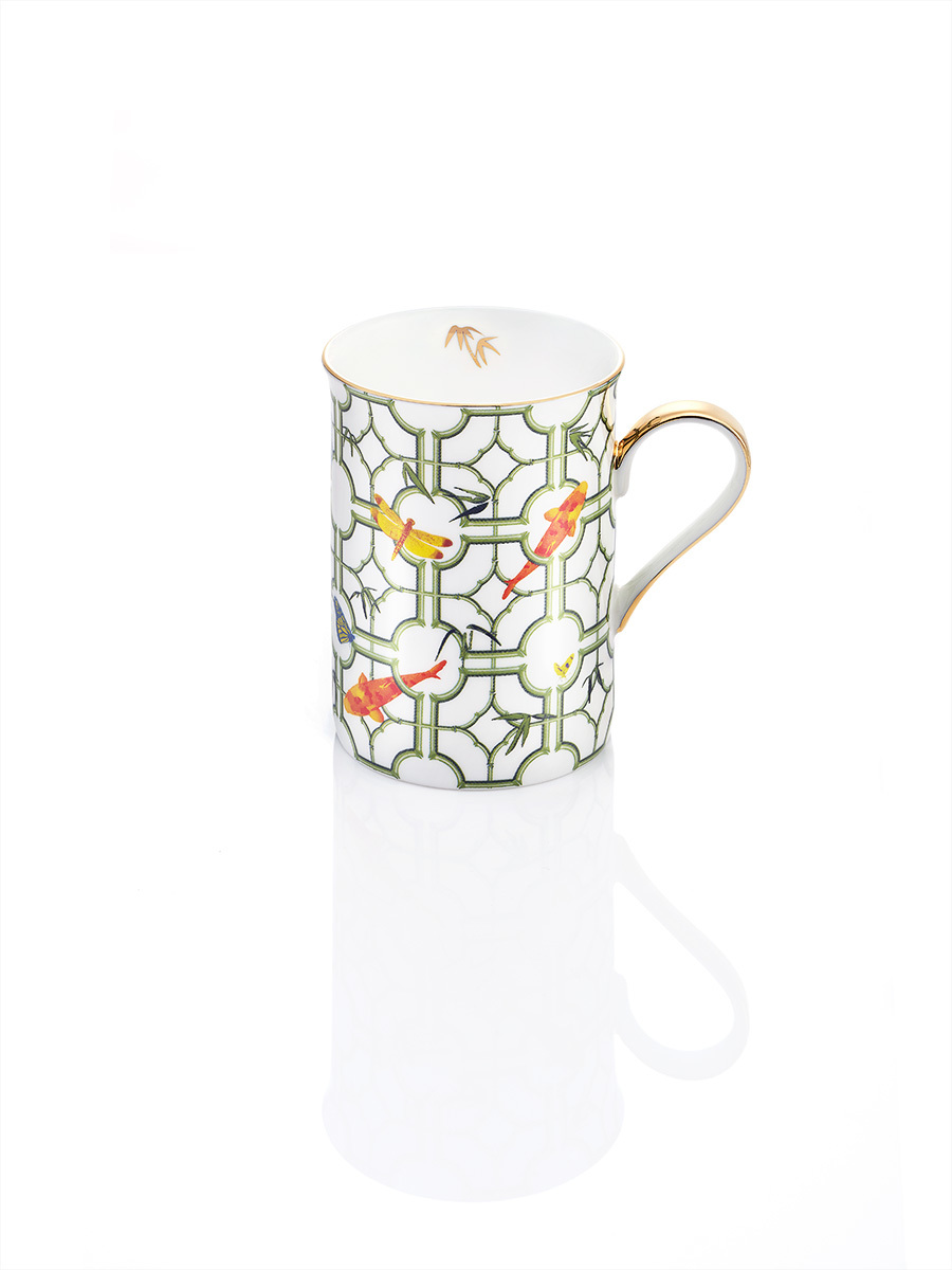 Koi Bone China Mug