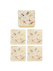 Koi Enamel Coaster Set of 4
