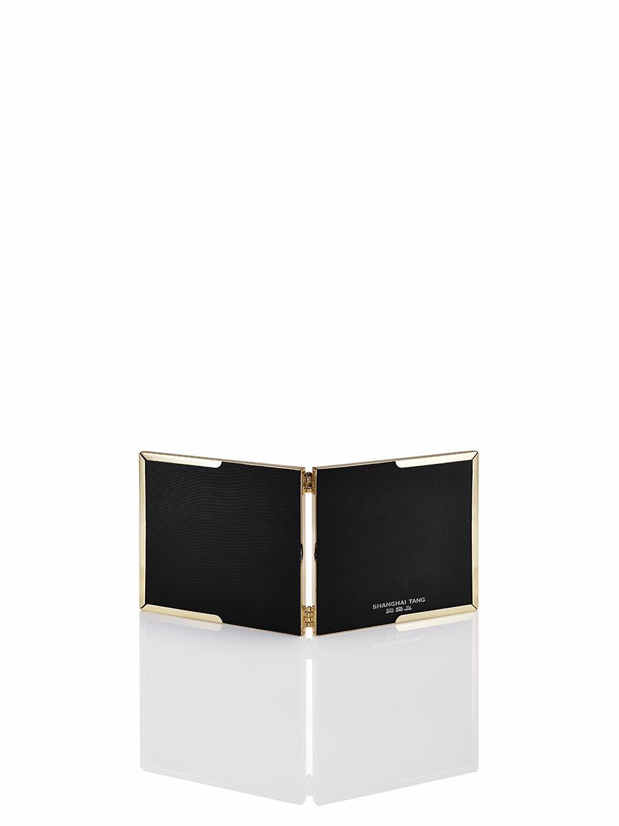 3R Ginkgo Filgree Metal Double Photo Frame