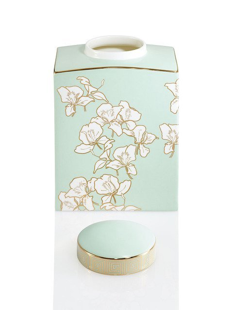 Ginger Flower Jar (Medium)