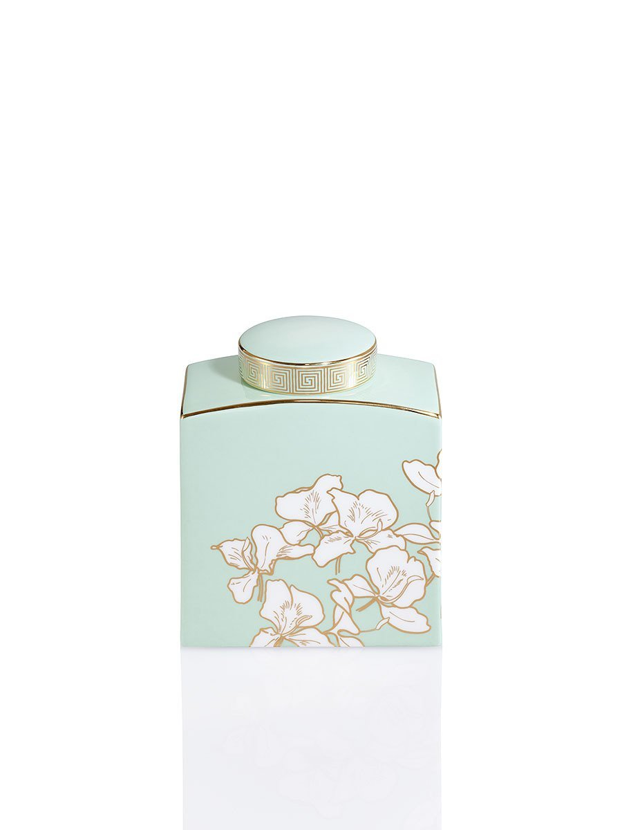 Ginger Flower Jar (Small)