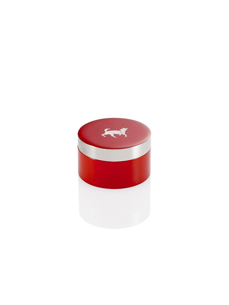 Dog Zodiac Small Enamel Box